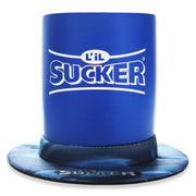 Lil Sucker Insulator Koozie Drink Suction Holder Blue