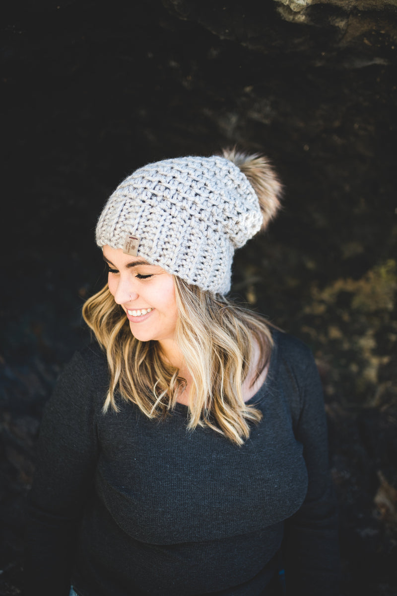 The Cascade Slouch Toque ~ Non Wool