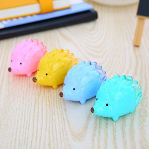 Back To Search Resultsoffice & School Supplies 2019 Latest Design 1pcs Kawaii Hedgehog Design Double Orifice Mini Pencil Sharpener Children Cartoon Pencil Sharpener Pencil Sharpeners