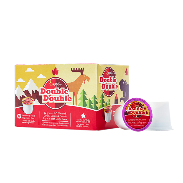Double Cream Double Sugar | Keurig Compatible | Case of 72