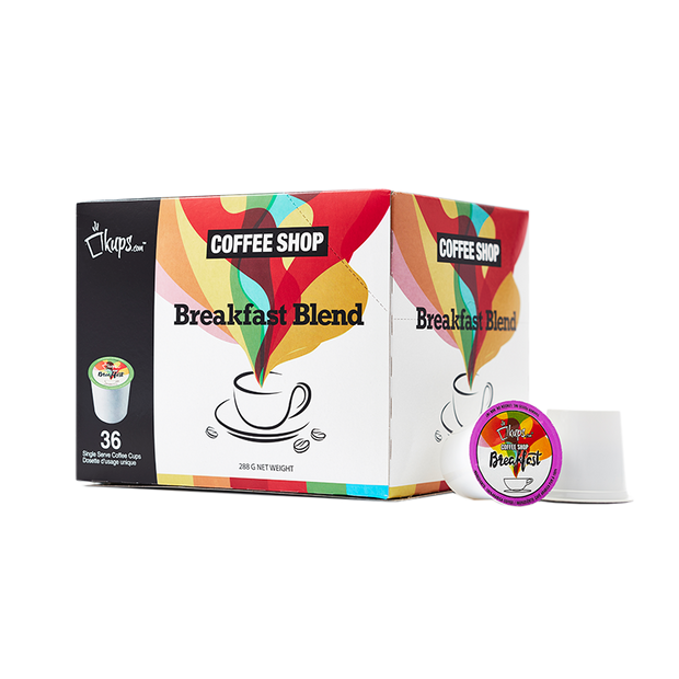 Breakfast Blend | Keurig Compatible | Case of 216