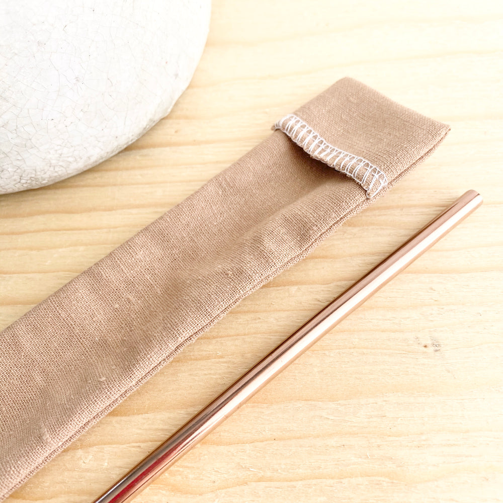 Reusable Straw Pouch (More Colour Options)