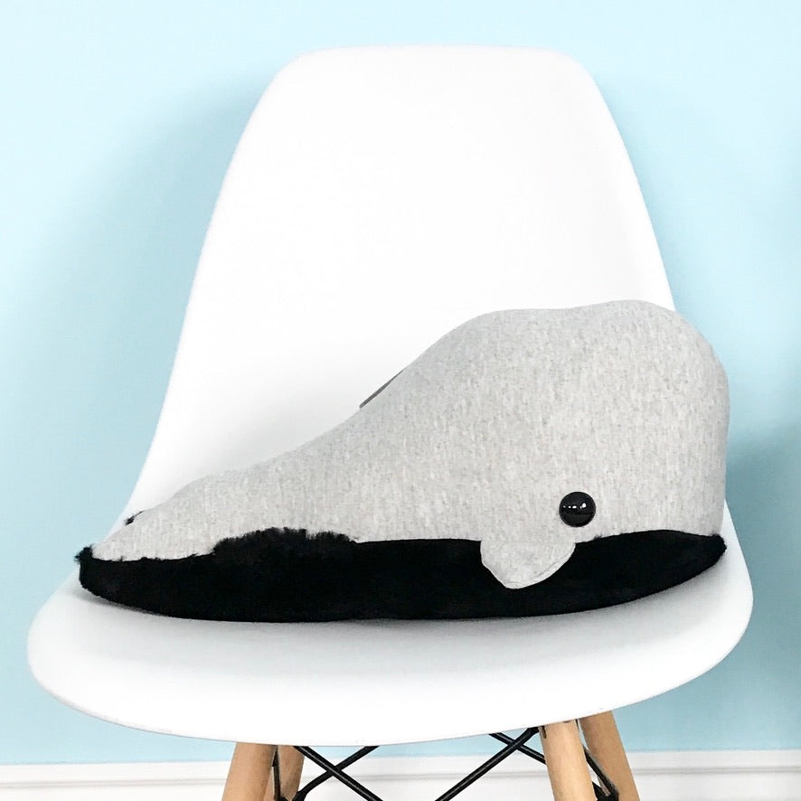 Wendi Whale Medium Whale Pillow