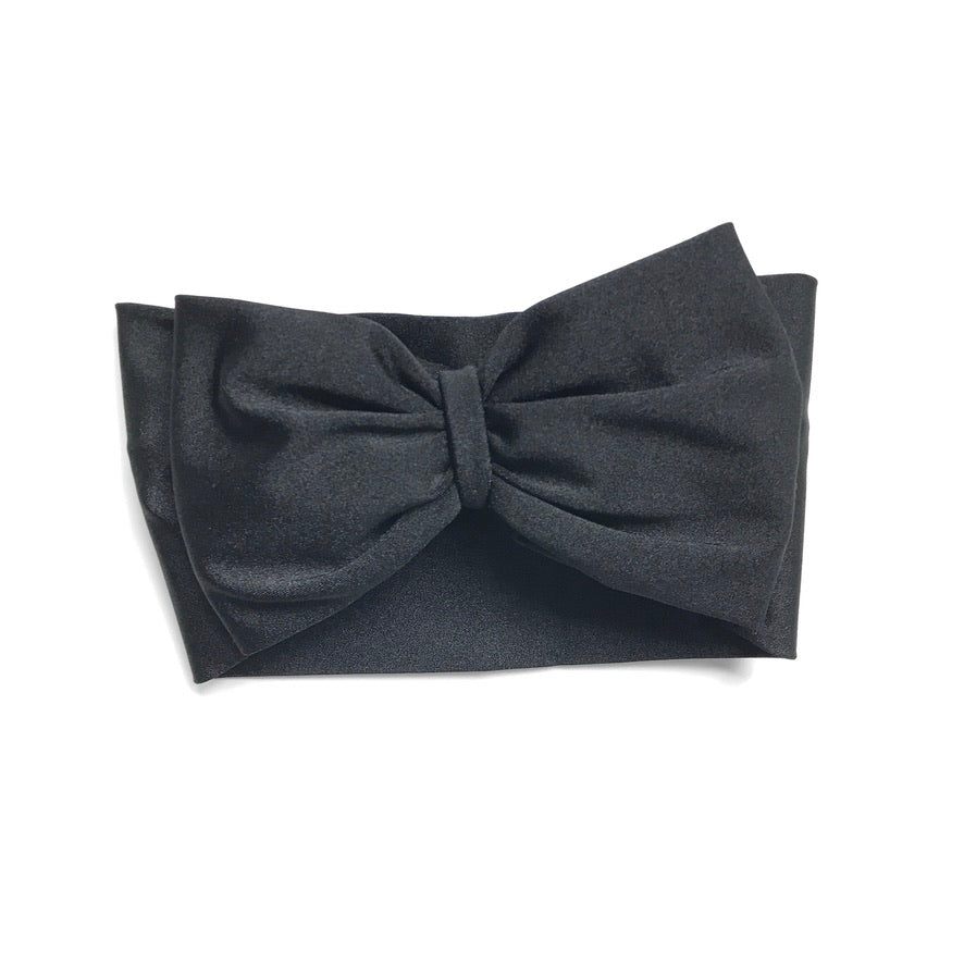 Black Single Bow