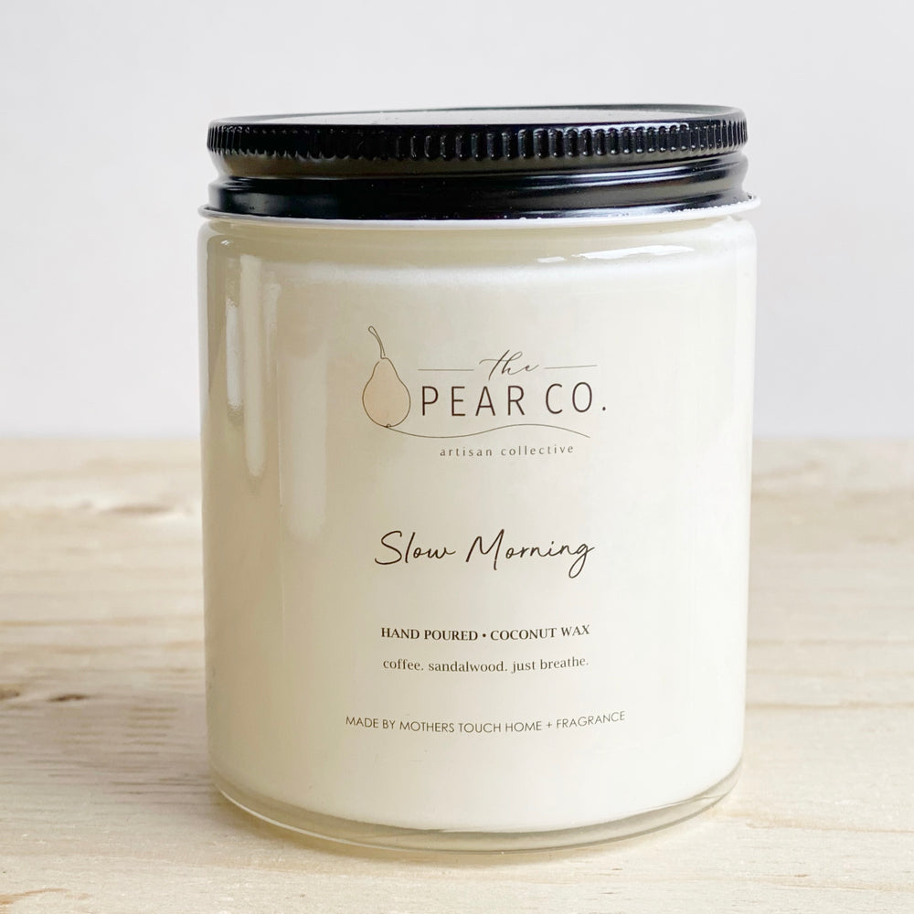 Slow Morning 6oz Coconut Wax Candle
