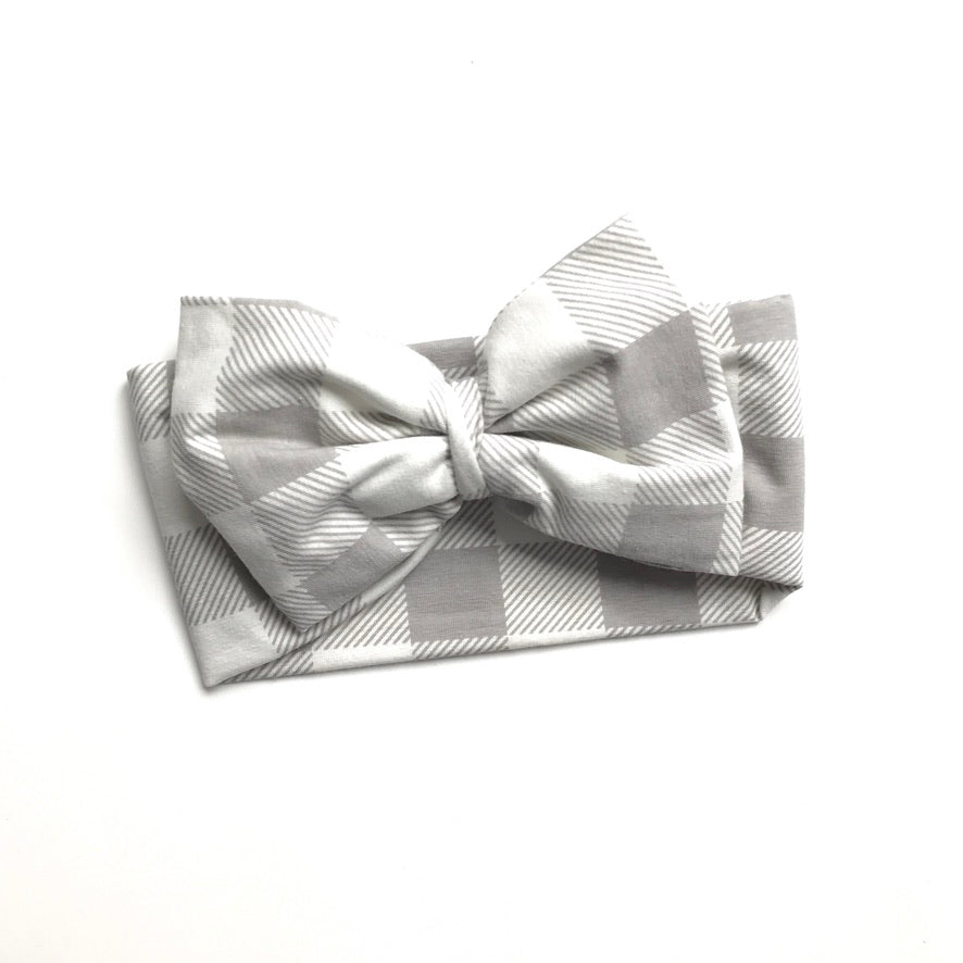 Calming Grey Single Bow