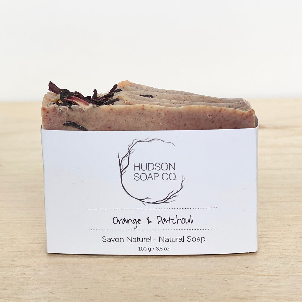 Orange + Patchouli Natural Soap