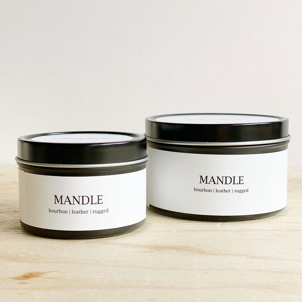 Mandle Coconut Wax Candle