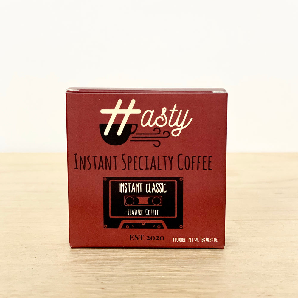 Instant Classic Specialty Coffee | 4 Pack