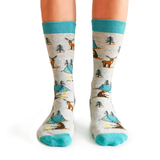 Camping Queen Socks | For Her