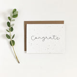 Congrats | Plantable Seed Card