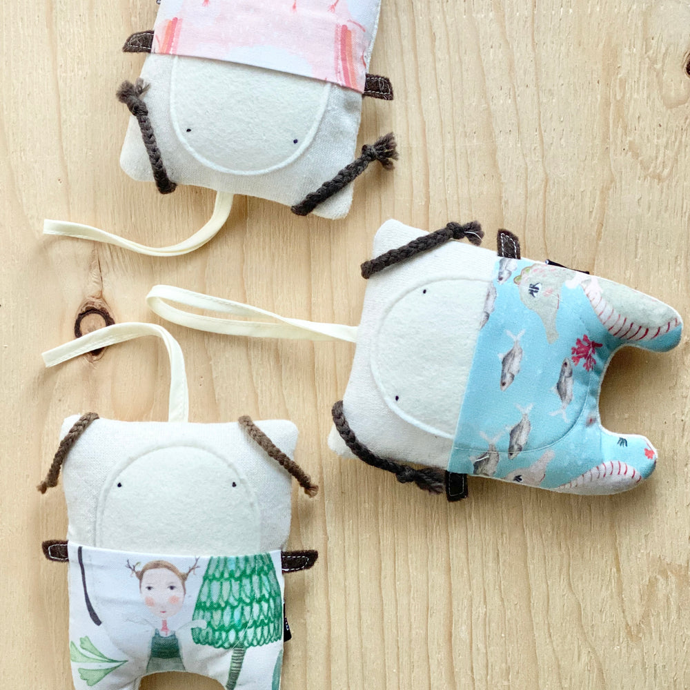 Organic Tooth Fairy Pillows | Pigtails