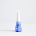 Blue Speckled Ring Cone