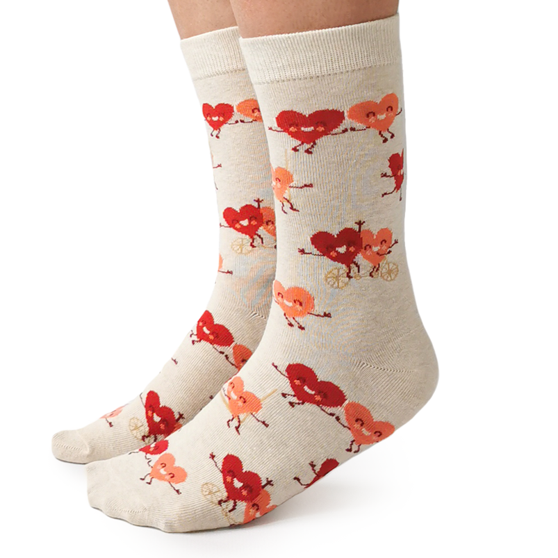 Tandem Hearts Socks | For Her