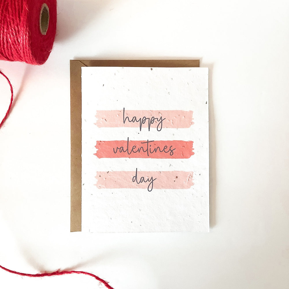 Happy Valentine's Day | Plantable Seed Card