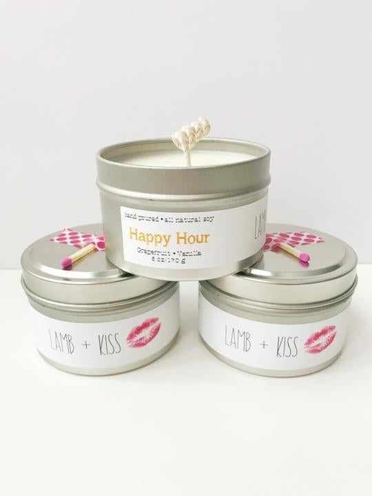 Happy Hour Soy Wax Candle | Melts