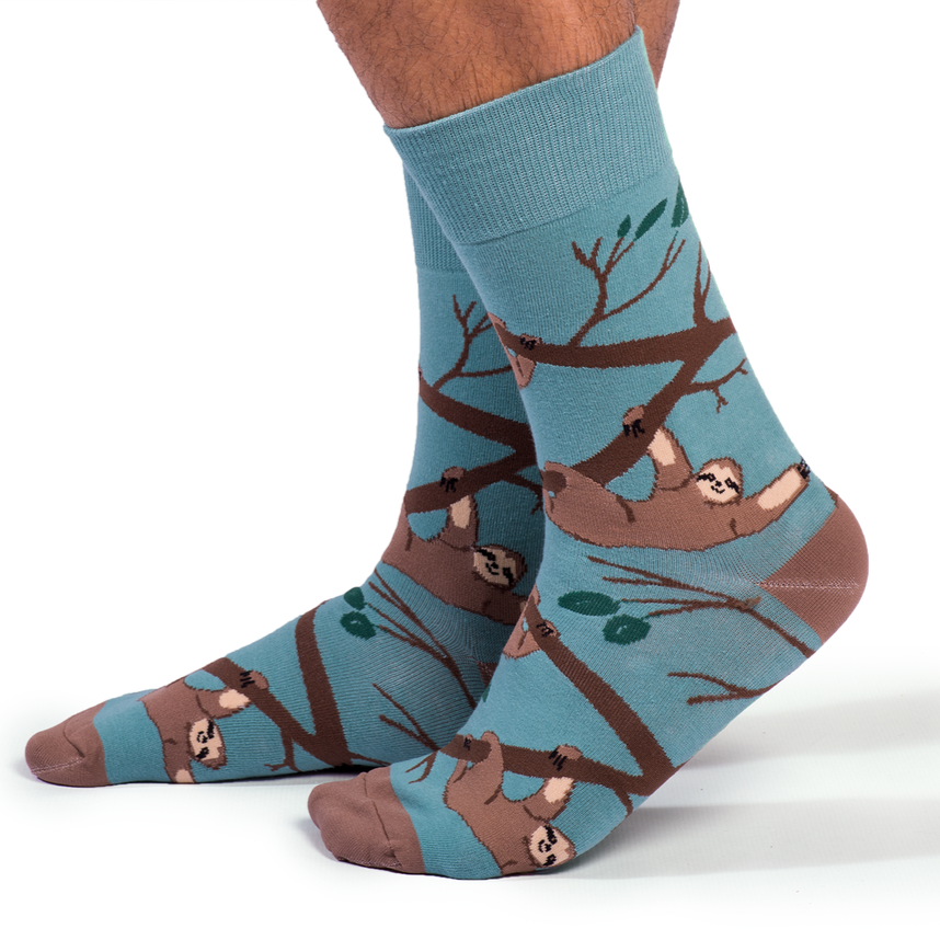 Slothin' Around Socks | For Him