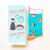 Sushi Roll For A Friend Card & Socks | For Her