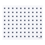 LARGE Tiny X + White Sponge Cloth Mat | Ten and Co.
