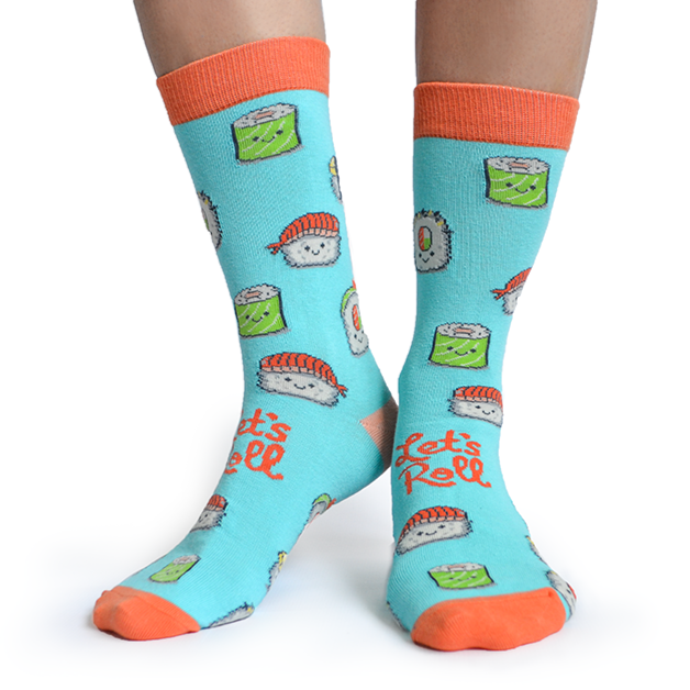 Sushi Roll Socks | For Her