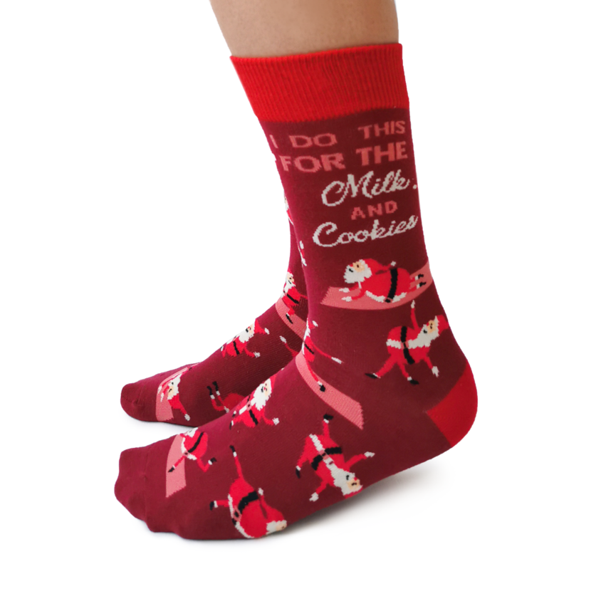 Yoga Santa Socks | For Her