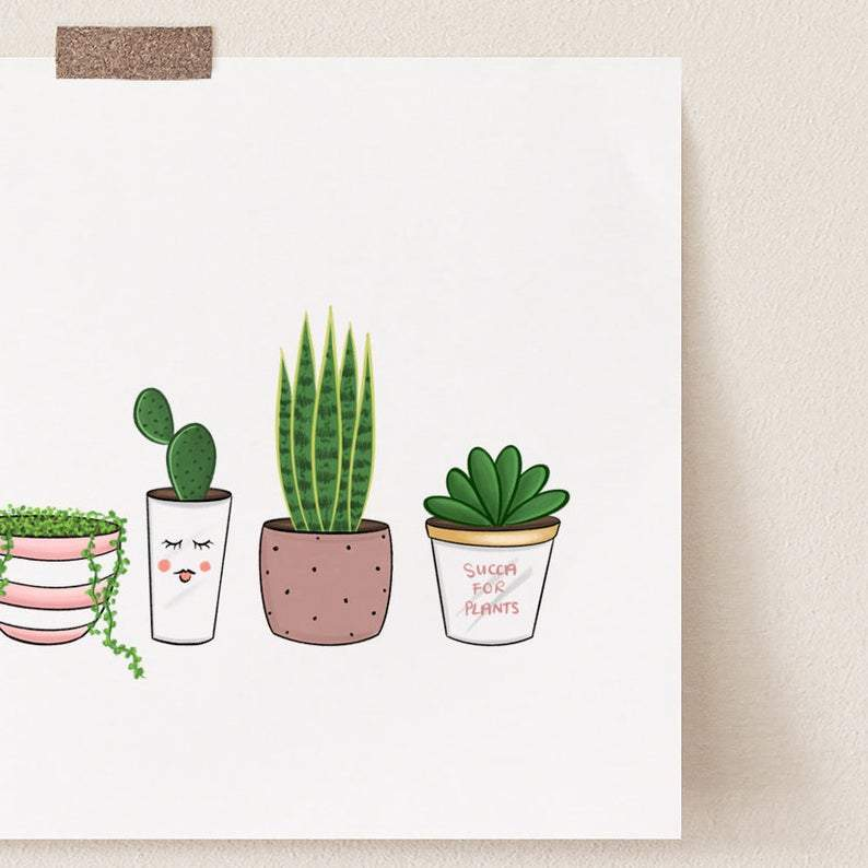 Succa for Plants Print