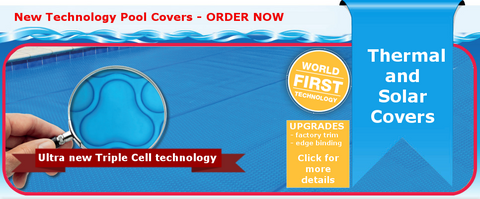 Triple Cell Pool Cover