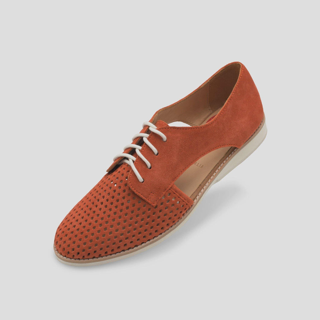 Derby Side Cut - Burnt Orange-Rollies-Lot 39 Store & Cafe