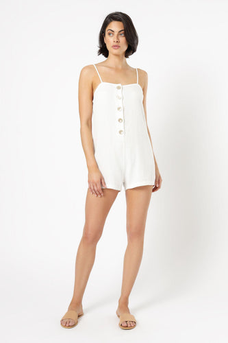 Rumi Linen Playsuit-Nude Lucy-Lot 39 Store & Cafe
