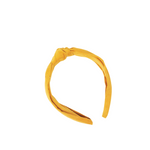 Girls Knot Headband-Mustard