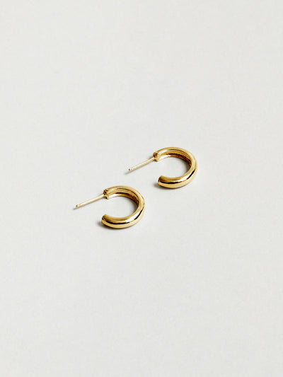 Abbie Hoops in Gold