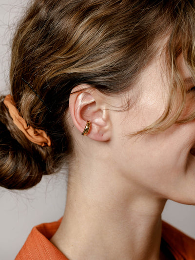 Jessa Ear Cuff in Gold