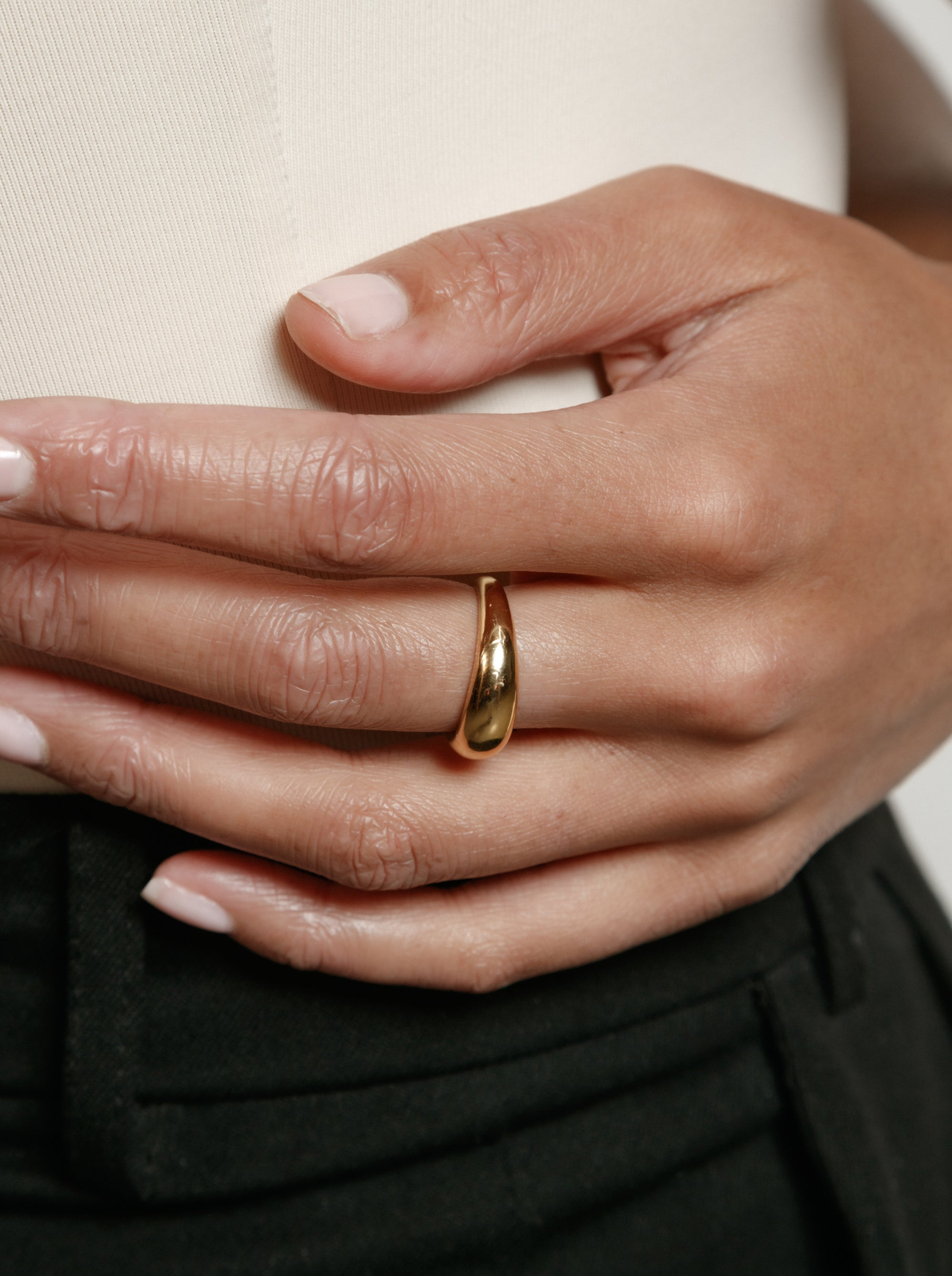 Olivia Ring in Gold