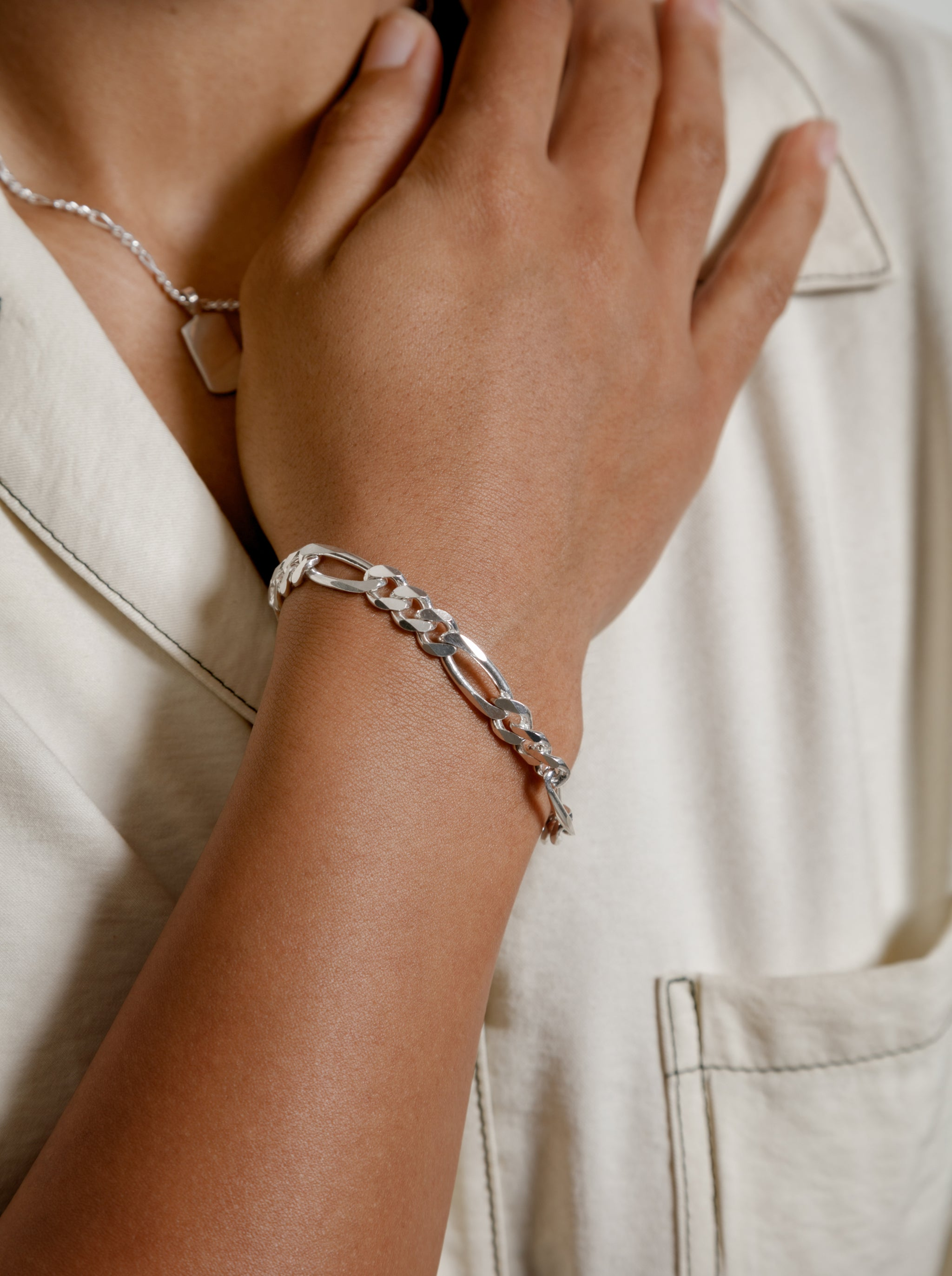 Michelle Bracelet in Sterling Silver