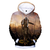 Unisex Destiny 2 Hoodies Long Sleeve Autumn Winter Sweatshirts Pullover Clothes Fashion Tops