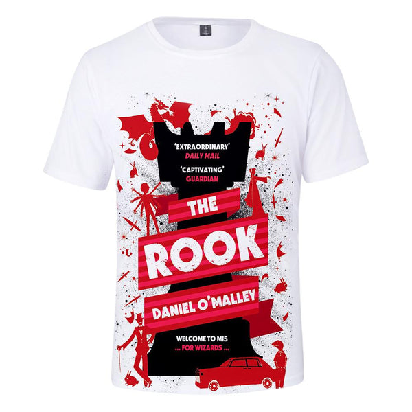 Unisex The Rook T-shirt Men Women Summer O-neck T-shirt Casual Street 3D Print Shirts