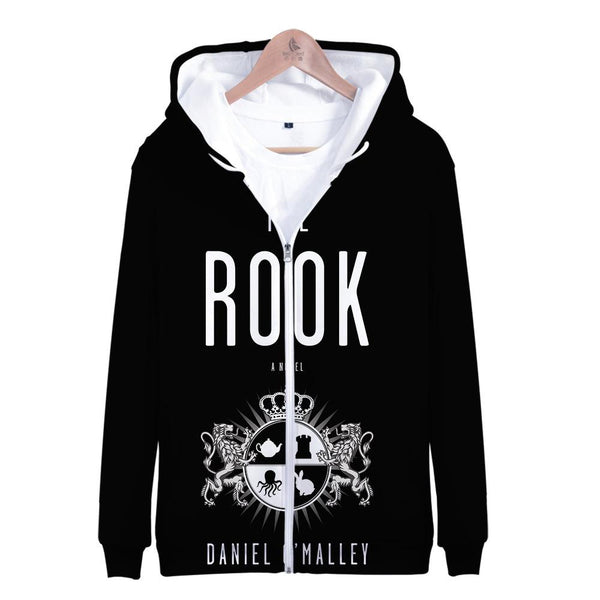Unisex The Rook Hoodies Long Sleeve Autumn Winter Sweatshirts Zip Up Clothes Tops