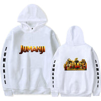 Unisex Jumanji: Welcome to the Jungle Hoodies Long Sleeve Autumn Winter Sweatshirts Pullover Clothes Tops