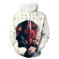 Unisex Death Stranding Hoodies Long Sleeve Autumn Winter Sweatshirts Pullover Clothes Tops