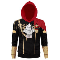 Unisex BLACK EAGLE Hoodies Fire Emblem: Three Houses Pullover 3D Print Jacket Sweatshirt