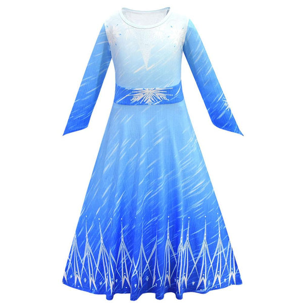 Frozen 2 Elsa Dress Girls Party Cosplay Clothing Birthday Princess Dress Kids Costume Christmas Dress