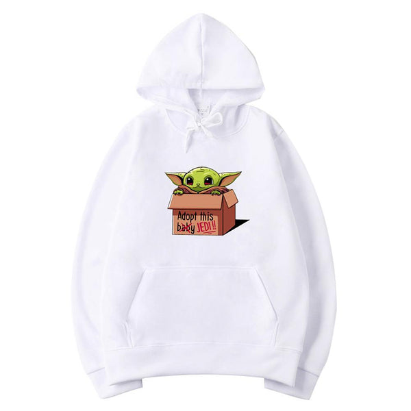 Unisex Star Wars The Mandalorian Sweatshirt Baby Yoda Adopt This Baby Hoodies Movie Cloth
