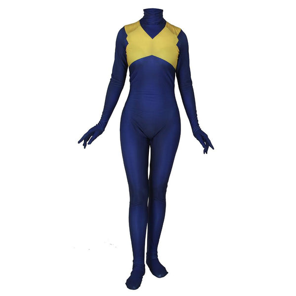 Women Dark Phoenix Jumpsuit Adult X-Men Tights Zentai Bodysuit Halloween Cosplay Costume