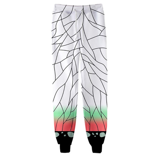 Unisex Kochou Shinobu Sweatpants Demon Slayer: Kimetsu no Yaiba 3D Printed Long Sport Pants