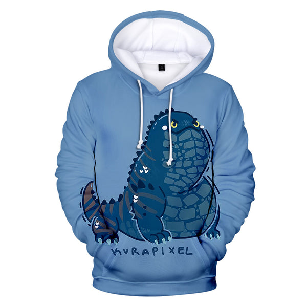 Unisex Monster Hunter: World Hoodies Teens Novelty Hooded Sweatshirts Spring Pullover Outerwear Sportswear