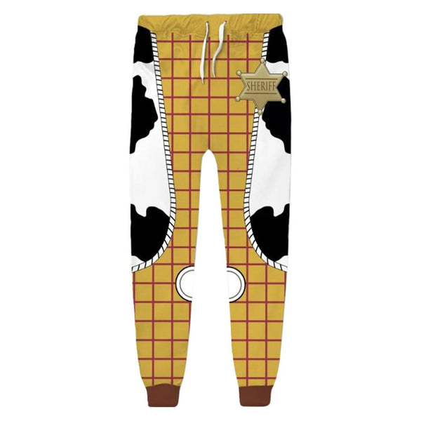 Unisex Woody Sweatpants Toy Story 3D Printed Long Sport Pants