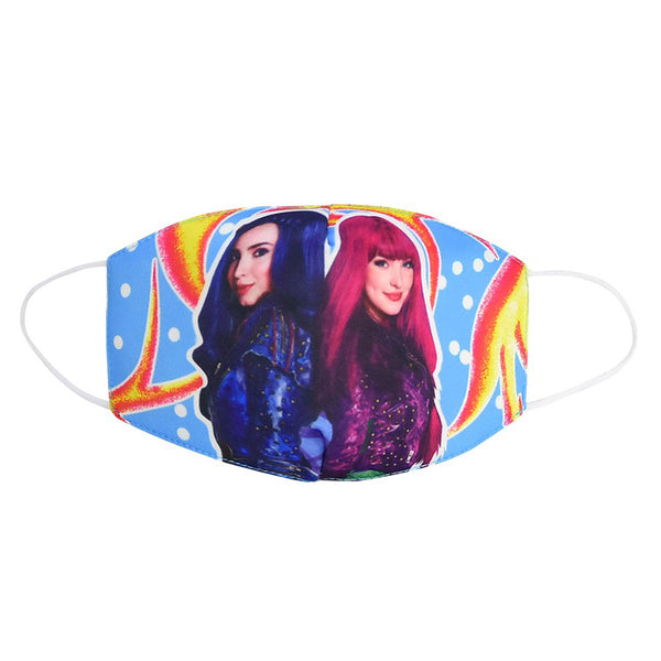 Descendants Cute Cartoon Reusable Mouth Masks Adults Kids Anti Dust Pollution Face Mask