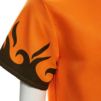 Naruto 4th Hokage Cosplay Costume Japanese Anime Namikaze Minato Halloween Uniform Cloak