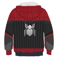 Kids Spider-Man Hoodies Spider-Man: Far From Home Pullover 3D Print Jacket Sweatshirt