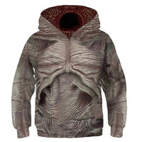 Kids Stranger Things Hoodie Demogorgon Cosplay Hooded Pullover Sweatshirt Cosplay Costume